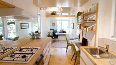 Tiny house organization this inspired tiny house radiates clever design tiny house movement organizations . Plan Tiny House, Tiny House Company, Tiny House Swoon, Modern Tiny House, Tiny House Living, Tiny House On Wheels, Tiny House Design, Clever Design, Interiores Design
