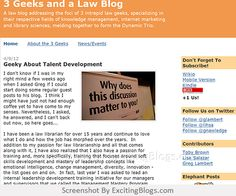 3 Geeks and a Law Blog - Click to visit blog:  http://1.33x.us/ImPzfh