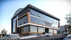 HADIMKÖY FACTORY  İstanbul. Turkey 2017 Designed for Üçler Cephe Hospital Architecture, Office Building Architecture, Building Exterior, Building Facade, Concept Architecture, Facade Architecture, Building Design, Office Buildings, Building Art