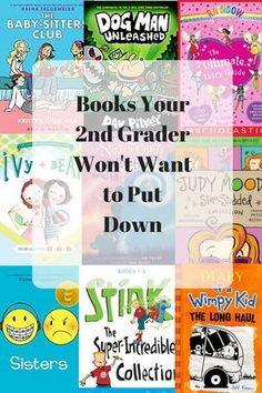 10 Books your grader won't want to put down 2nd Grade Chapter Books, Books For Second Graders, 2nd Grade Reading Books, Summer Reading Lists, Kids Reading, Reading Club, Good Books, Books To Read, Parenting Books