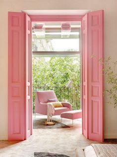 Дверь-гармошка (54 фото): чтобы все, как по нотам http://happymodern.ru/dver-garmoshka-54-foto-chtoby-vse-kak-po-notam/ Розовая дверь-гармошка - яркая изюминка в спальне Смотри больше http://happymodern.ru/dver-garmoshka-54-foto-chtoby-vse-kak-po-notam/