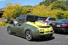 Bugatti Veyron spotted in Carmel, California