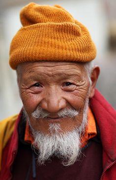 ˚Buddhist monk - Ladakh, Wanla