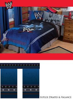 wwe john cena - double bed quilt cover set - great gift idea for