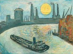 Edward Douglas Eade - Thames Barge