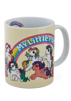 May the Horse Be with You Mug. Start your day on the right hoof by pouring your morning Joe into this My Little Pony mug! #multi #modcloth