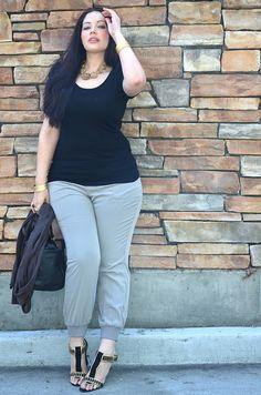 tumblr ljkq9hailC1qg7d0h Curvy Girl Challenge: The Cropped Trouser