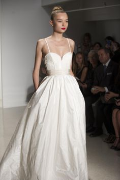 """Amsale Fall 2014 - """"Cameron"""" #amsale #wedding #bridal #nitsas"""