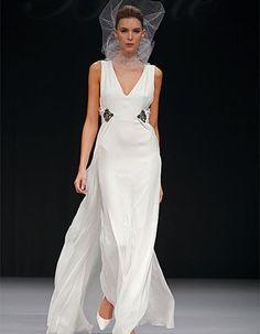 Badgley Mishka wedding dresses. White wedding dress #bridesmaid dresses #bridal dresses #wedding dress #wedding  #dresses #dress for wedding #bride #the wedding dress #wedding dress up #lace wedding dress #weddingdress #hairstyles #hair #long hair #short hair #medium hair #bridal hairstyles