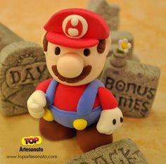 Como fazer Super Mario de Biscuit :http://topartesanato.com/como-fazer-super-mario-de-biscuit/