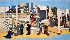 喜多川歌麿「深川の雪」(江戸時代後期・19世紀初頭)岡田美術館蔵