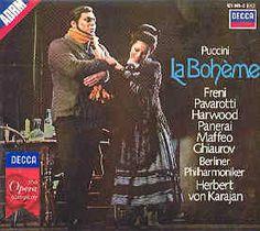 La Bohème [CD] : Òpera en quatre actes composta per Giacomo Puccini i llibret en italià de Luigi Illica i Giuseppe Giacosa, estrenada al Teatro Regio de Torí l'any 1896. Estrena a Espanya al Gran Teatre del Liceu de Barcelona, el 10 d'abril de l'any 1898.