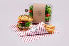Bouch Burger Bistro via @The Dieline