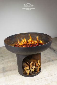 Blacksmith Made Kadai / Fire Bowl