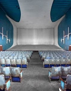 Neelam Cinema is one of three theaters built in Chandigarh, a modernist city master-planned by Le Corbusier. Built shortly after India gained. Art Furniture, Le Corbusier Chandigarh, Milk Shop, Modern Architecture House, Architecture Quotes, Chinese Architecture, Futuristic Architecture, Modern Houses, Landscape Architecture
