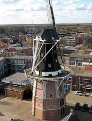 Windmill 'Edens' in Winschoten, The Netherlands