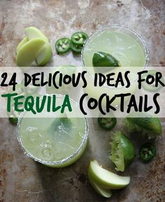 Because there's always time for tequila.