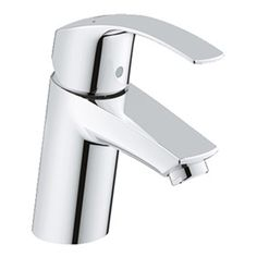 Grohe+Eurosmart+Lavatory+Single-hole+Faucet+-+Starlight+Chrome