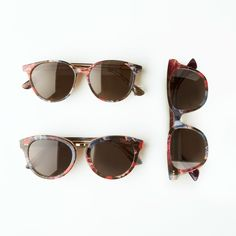 TOMS Memphis, Yvette and Bellini frames, now available in an intricate Victorian fabric inlay. #TOMSeyewear