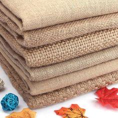 Burlap Crafts, Fabric Crafts, Sewing Crafts, Diy And Crafts, Crafts Cheap, Decor Crafts, Diy Home Decor, Room Decor, Burlap Fabric