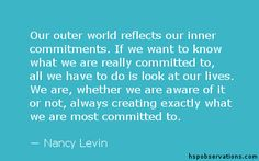 A Quote About Commitment