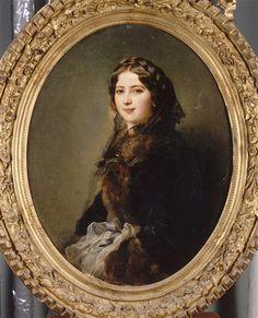 Portrait de la comtesse Lise Przezdziecka, 1857. Franz Xaver Winterhalter.   In the Swan's Shadow