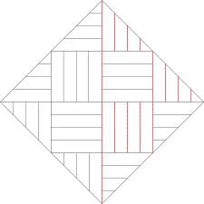 Image result for straight line quilting patterns