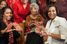 Let's embrace this thought.... blessed are the pure in heart for they shall see God. Rest in Peace our dear Soror Ruby Dee