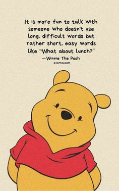 Winnie The Pooh Quotes - Die ultimativen inspirierenden Lebenszitate - Winnie Po. - Winnie The Pooh Quotes – Die ultimativen inspirierenden Lebenszitate – Winnie Po… – Schöne - Disney Winnie The Pooh, Winnie The Pooh Quotes, Winnie The Pooh Drawing, Winnie The Pooh Pictures, Winnie The Pooh Friends, Inspiring Quotes About Life, Inspirational Quotes, Motivational Quotes, Disney Movie Quotes