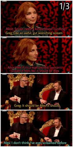 Taskmaster outtakes: part 1 British Humour, British Comedy, Greg Davies, Comedy Movies, Hilarious, Funny, Comedians, Movies And Tv Shows, Movie Tv