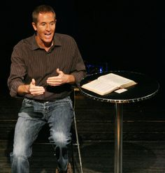 Andy Stanley - a pin to remind me to look him up... books, vids.  Like his messages and delivery.