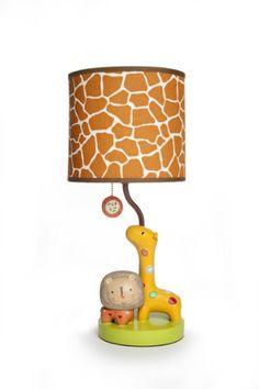 Amazon.com: Kids Line Lamp Base and Shade, Safari Dream: Baby