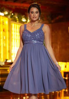 Plus Size Cocktail Dress with Beading | Plus Size Cocktail Dresses | Jessica London. Only in size 16.