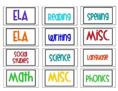 These labels will fit nicely into your metal filing cabinet drawers and keep you organized while jazzing up your classroom!  ...