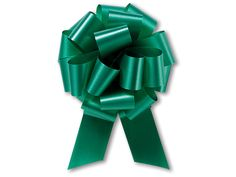 """Emerald Green Pull Bows 4"""""""