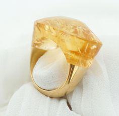anel citrino