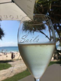 Noosa QLD   Sails Restaurant Wine Glass, Sailing, Destinations, Restaurant, Tableware, Candle, Dinnerware, Diner Restaurant, Tablewares