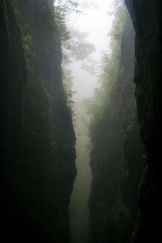 Canyon at the 'Levada do Caldeirão do Inferno', Madeira Island
