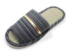 KNP21301T-Mens Strip Indoor Tatami Bamboo Slippers Available three colors and four sizes *** Don't get left behind, see this great product : Women's Shoes