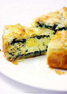 Torta Pasqualina - A traditional savory Italian Easter pie