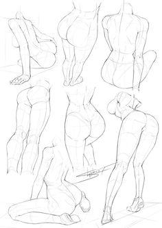 Art tutorials, drawing tutorials, drawing techniques, body poses, drawing l Drawing Lessons, Drawing Skills, Drawing Poses, Drawing Techniques, Drawing Tutorials, Art Tutorials, Drawing Tips, Body Drawing, Anatomy Drawing