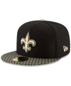 637e9709d8462 New Era New Orleans Saints Sideline 59FIFTY Cap - Black 7 1 8
