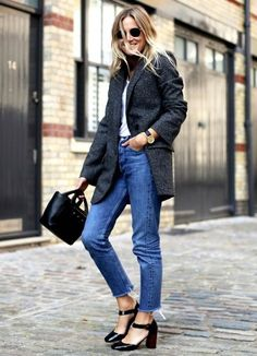 cropped jeans Lucy Williams
