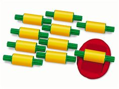 Dough Rollers - Set of 10 at Lakeshore Learning