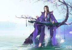 feimo Fantasy Art Men, Fantasy Girl, Zen, Pink Sand Beach, Amaterasu, China Art, Manga, Ancient Art, Photo Illustration