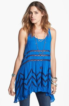 df9cf0737f Free People Lace Trim Trapeze Tunic Dress available at  Nordstrom Free  People Dress