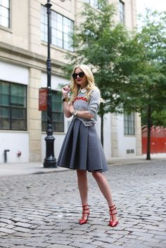Fashionista on the street Style Casual, Style Me, Modest Outfits, Summer Outfits, Fall Outfits, Look Fashion, Womens Fashion, Fashion Trends, Street Style