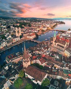 Zurich, Switzerland Lake Zurich, Suiza Zurich, Places To Travel, Places To Go, Travel Destinations, Places In Switzerland, Switzerland Tourism, Swiss Travel, Holiday Destinations
