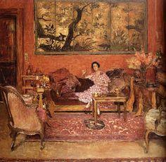 Édouard Vuillard 1868-1940 | French Post-Impressionist Nabi painter