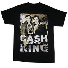 Elvis Presley and Johnny Cash shirt